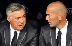 Ancelotti Sebut Zidane Entrenador Hebat