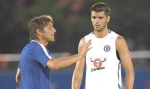 Conte Sebut Morata Masih Membutuhkan Waktu Beradaptasi